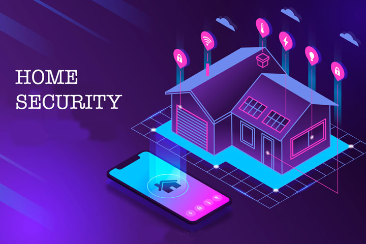technology smart home security
