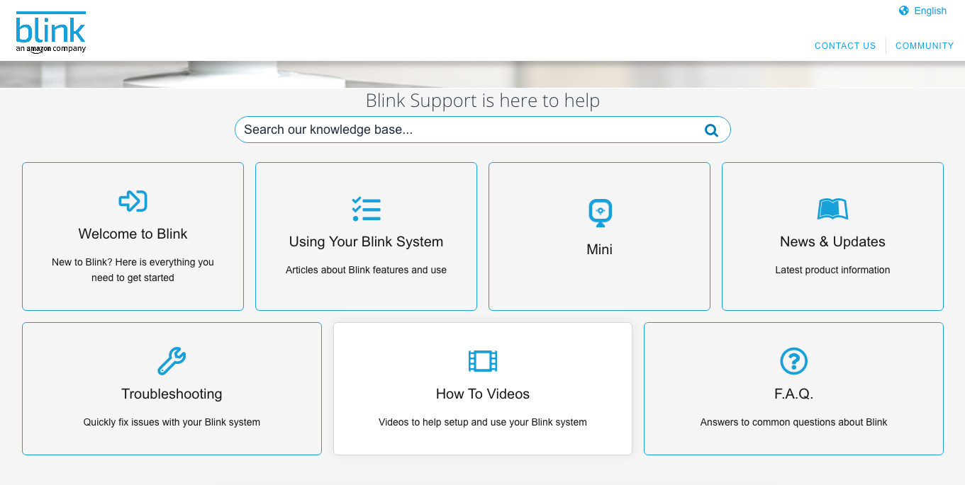 Blink Support