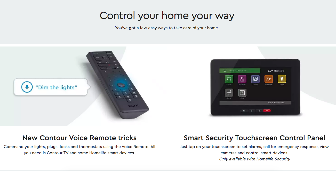 Cox control your home