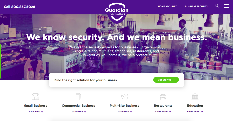 Guardian business security