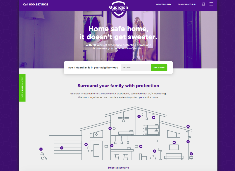Guardian home security