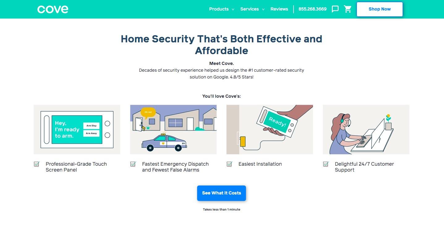 Cove Security advantages